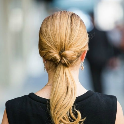 Inverted Ponytail Hairstyle Updo - Hairstyle Ideas for Women