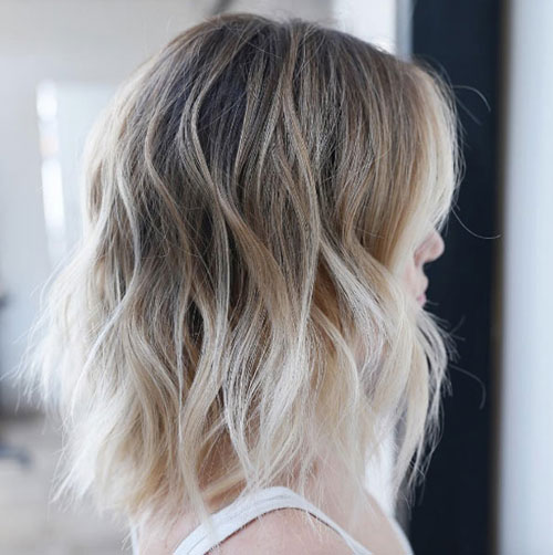 Long Bob - Messy Lob Hair