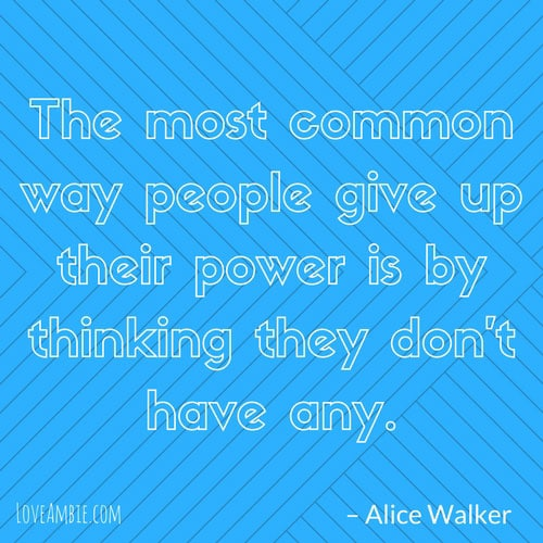 Inspirational Quote - Successful Women Quote - Alice Walker Quote
