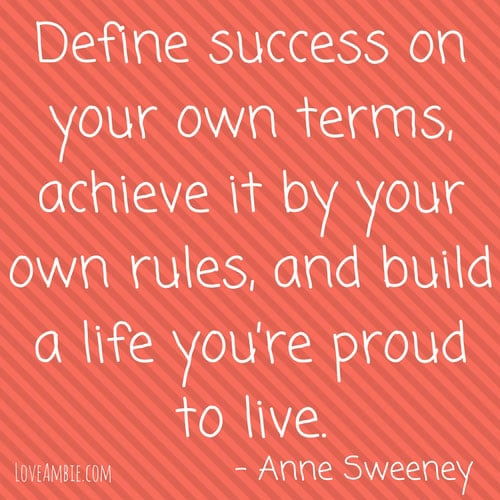 Inspirational Quote - Successful Women Quote - Anne Sweeney