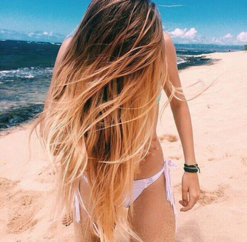 Beach Blonde Ombre
