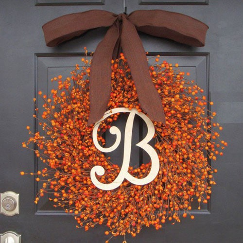Beautiful Thanksgiving Decorations Wreath