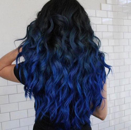 how to dye your hair ombre style at home best ombre hair 41 vibrant ombre hair color ideas 9319