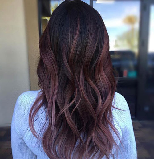 Black Plum Balayage