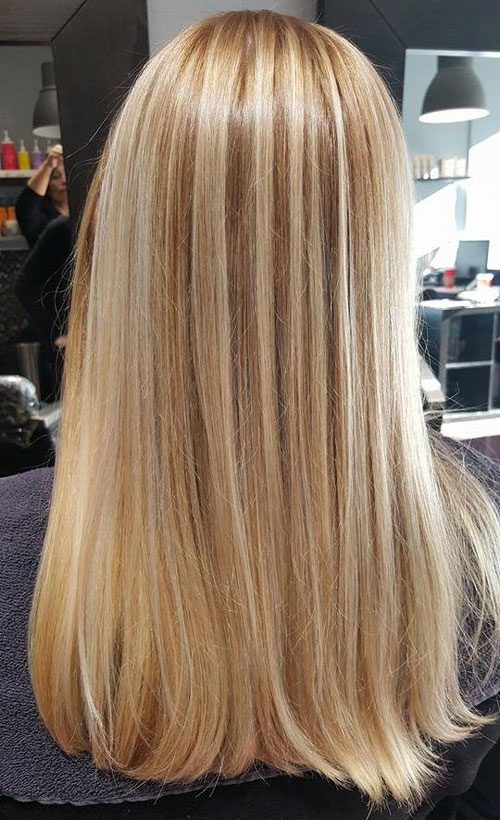 Blonde Hair Painting Color