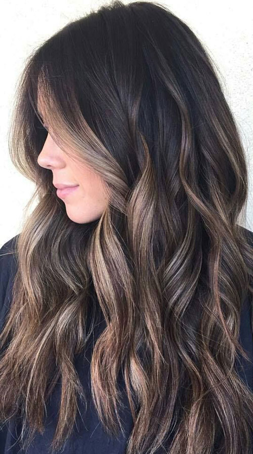 Natural Grey Hair Balayage