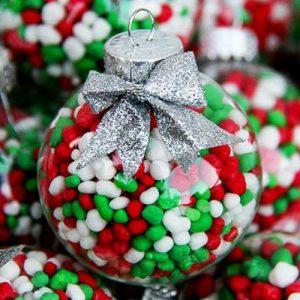 41 Glass Ball DIY Christmas Ornaments