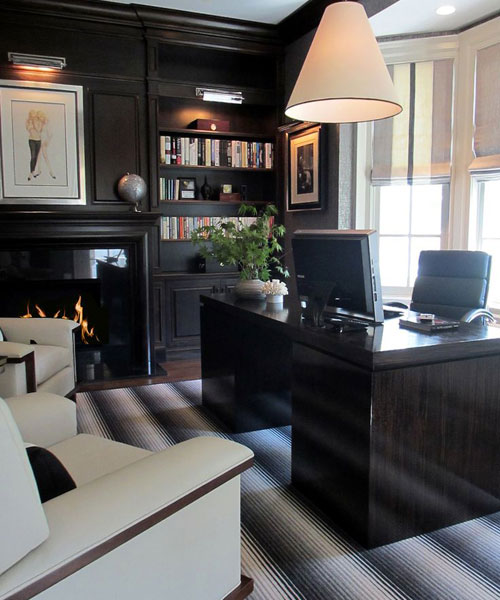 Contemporary Large Home Office
