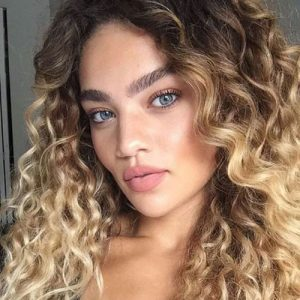 Curly-Natural-Ombre-Hair-Color - Womens-Hairstyles