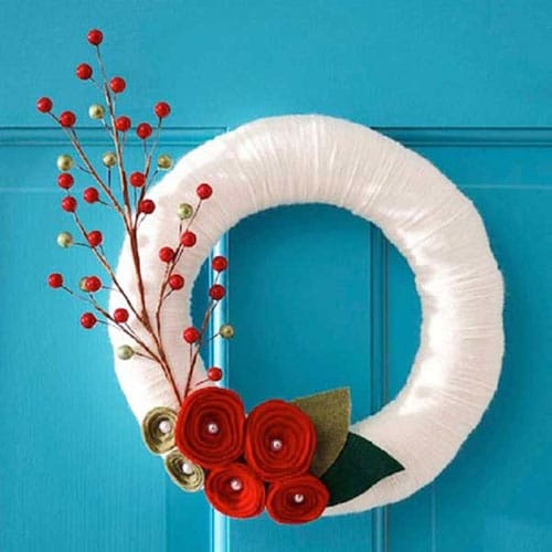 Elegant DIY Christmas Wreath