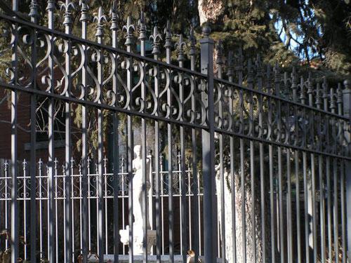 Gothic Style Fence Iron
