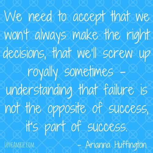 Inspirational Quote - Successful Women Quote - Arianna Huffington Quote