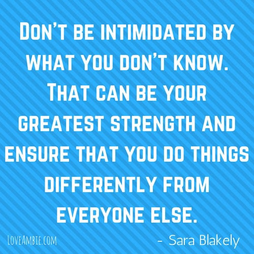 Inspirational Quote - Successful Women Quote - Sara Blakely
