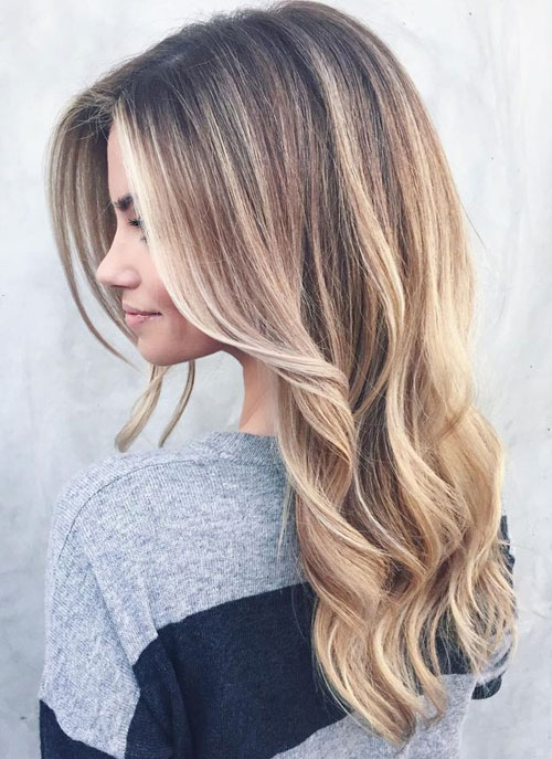 25 balayage hair colors blonde brown and caramel highlights love ambie. Black Bedroom Furniture Sets. Home Design Ideas