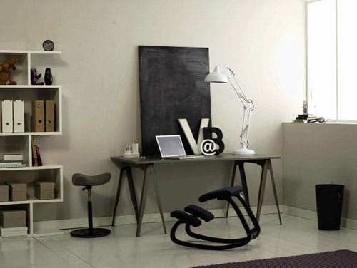 Modern Black and White Home Office Ideas