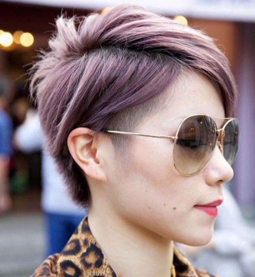 Pastel Pixie with Undercut