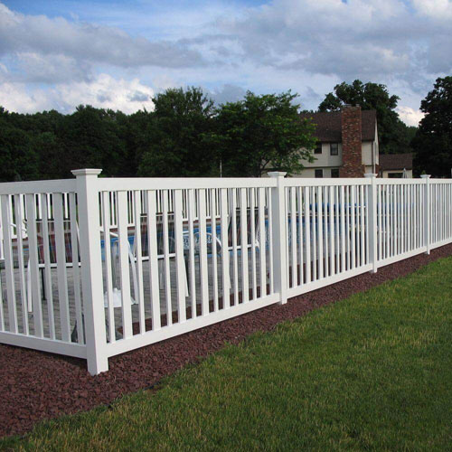 Picket Flat Top Fence