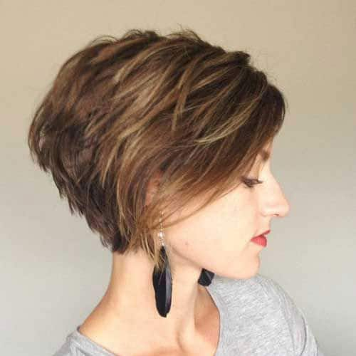 Short Pixie Haircut with Layers