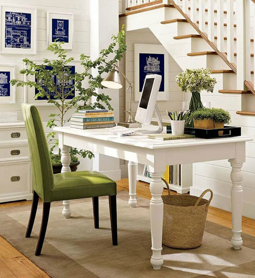 41 home office decor ideas 2019 guide - Creating a small home office ...