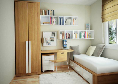 Small Home Office Ideas - Bedroom Office