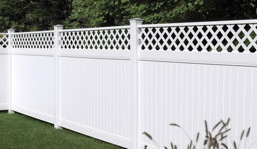 Vinyl Latice Fence