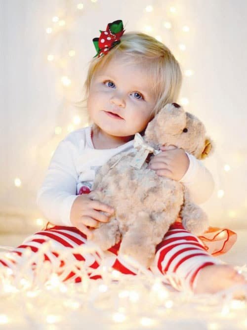 Baby Toddler Christmas Picture Ideas