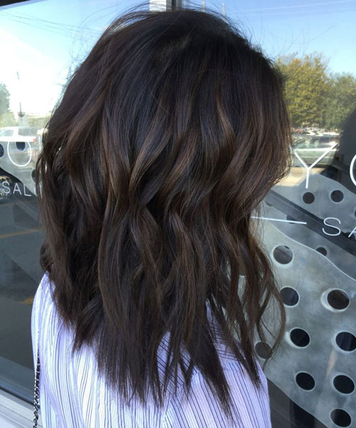 Top Balayage For Dark Hair , Black and Dark Brown Hair