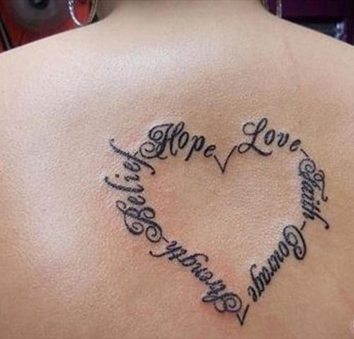 51 Cute Heart Tattoo Designs You Will Love (2019 Guide