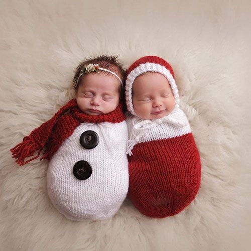 45 Baby Christmas Picture Ideas - Capture Holiday Joy (2018 Guide)