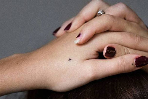 Small Tattoo Ideas - Small Hand Tattoos