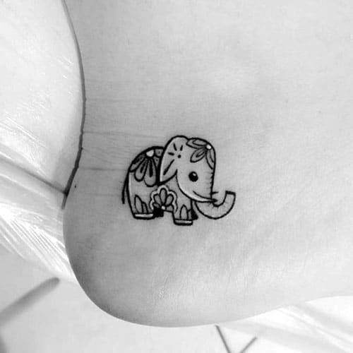 Unique Small Tattoos - Tiny Tattoo Ideas - Tiny Ankle Tattoo