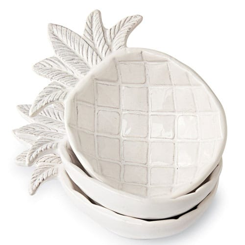Ceramic Pineapple Dip Bowl