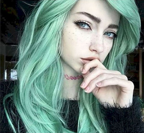 31 Glamorous Green Hairstyle Ideas Love Ambie