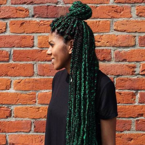 31 Glamorous Green Hairstyle Ideas (2020 Update)