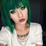31 Glamorous Green Hairstyle Ideas