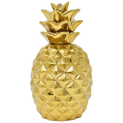 Golden Pineapple Showpiece