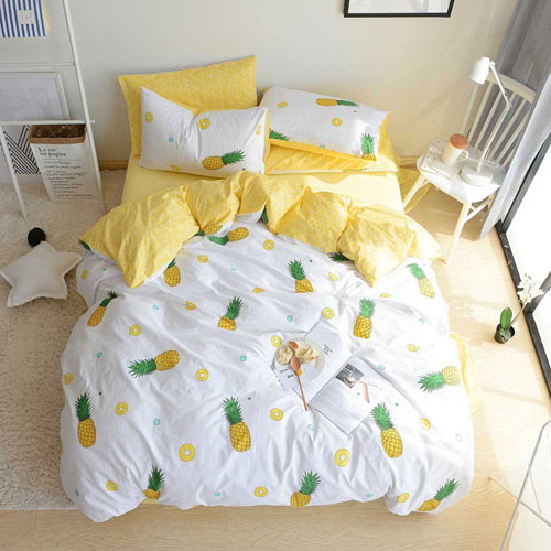 Pineapple Bedding - Pineapple Bed Set