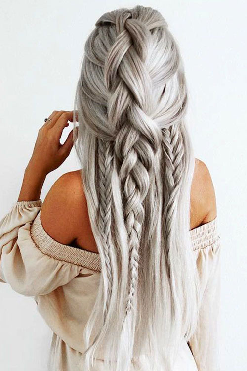 Long Loose Braids