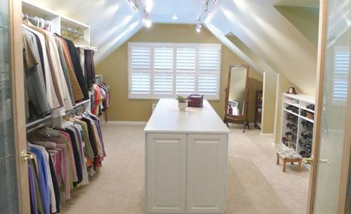 Closet Attic Remodel