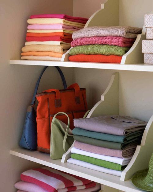Closet Organization Shelf Dividers