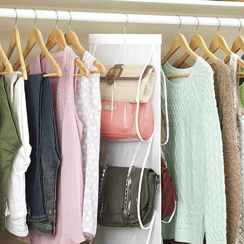 Closet Purse Storage