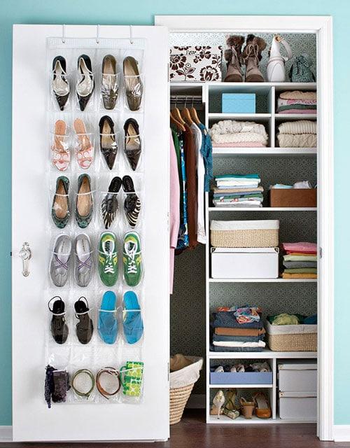 Door Shoe Storage