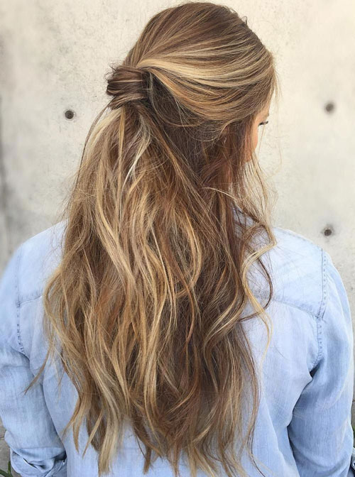 35 Simple Amp Cute Messy Ponytail Hairstyles 2019 Guide