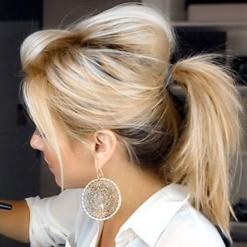 How To Make A Messy Ponytail