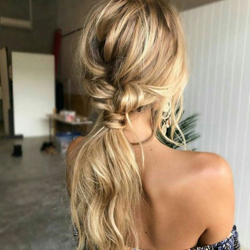 cute messy ponytail hairstyles love ambie