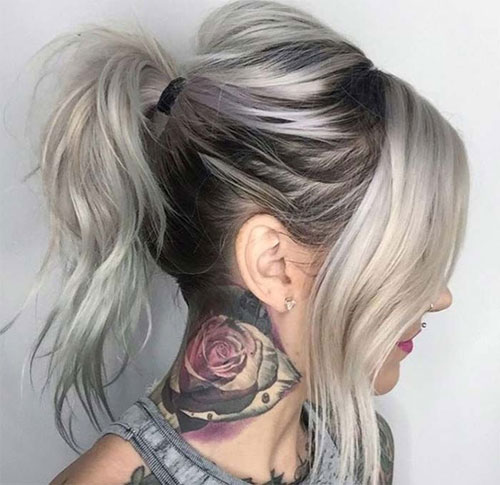 35 Simple Cute Messy Ponytail Hairstyles 2021 Guide