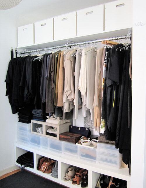 Top Shelf Closet Organizer
