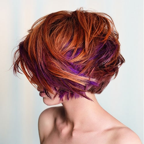Colorful Short Bob