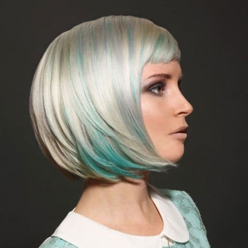 Modern Colorful Bob