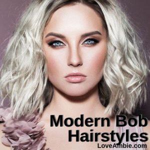 Top Modern Bob Haircuts